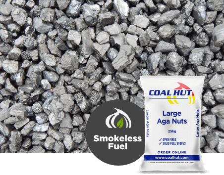 Large Aga Nuts Smokeless Fuel 25kg
