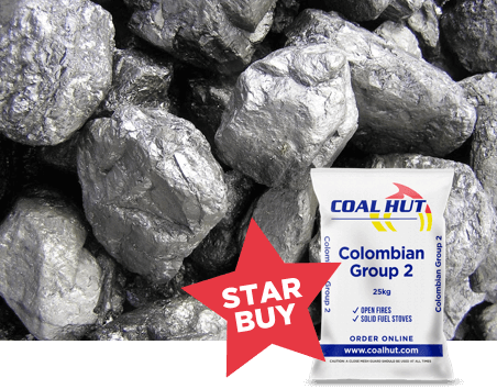 Coal Hut - Colombian Group 2 Coal
