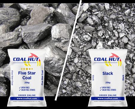 Coal Hut | Slack | Five Star Coal