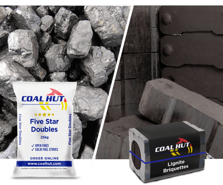 Lignite Briquettes | Five Star Doubles | Coal Hut