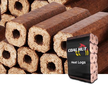 Coal Hut | Heat Logs | Fire Logs