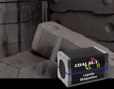 Coal Hut | Lignite Briquettes