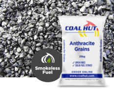 Anthracite Grains Smokeless Fuel 25kg