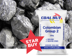 Colombian Group 2 Coal Trebles 25kg